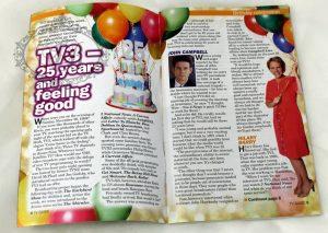 TV guide magazine cake excerpt
