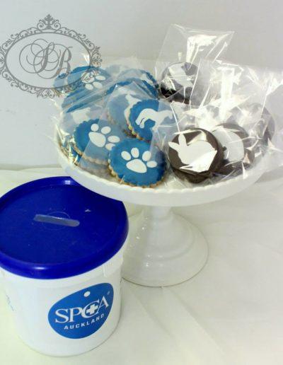 SPCA fundraising cookies