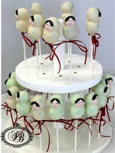 Babushka cake pops