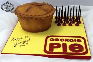 3D Georgie pie cake