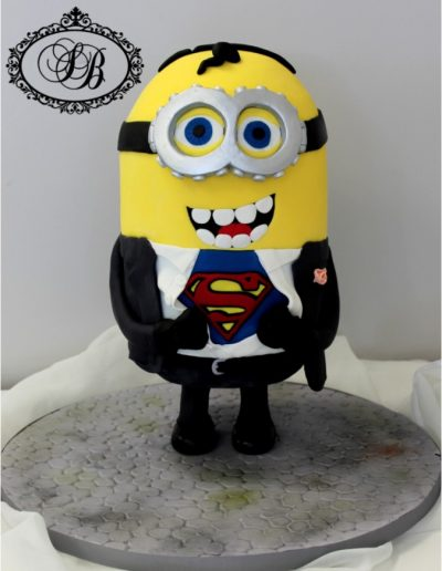 Standing Minion Superman