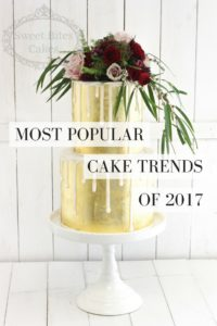 Most Popular Cake Trends 2017