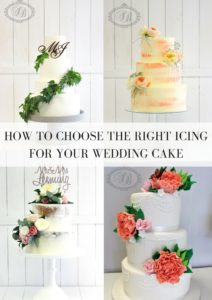 HOW TO CHOOSE THE RIGHT ICIING FOR YOUR WEDDING CAKE1