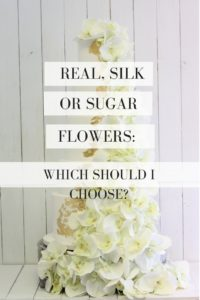 Cake and flowers guide