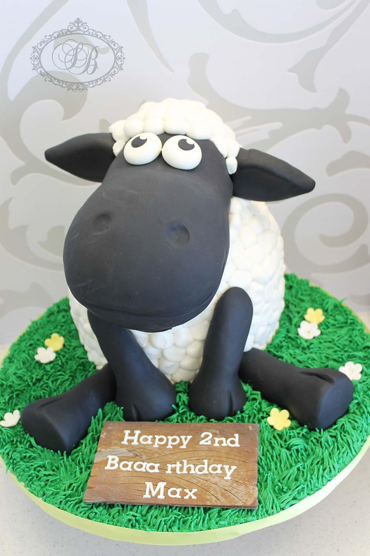 Fabulous Shaun The Sheep Cake Sweet Bites Cakes Funny Birthday Cards Online Benoljebrpdamsfinfo