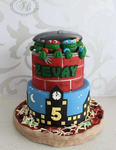 TMNT Themed Cake