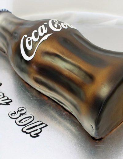 3D coke bottle cake