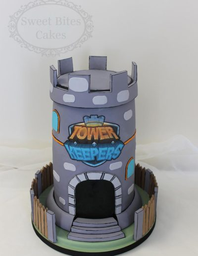 Tower keepers cake