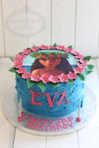 Buttercream moana cake