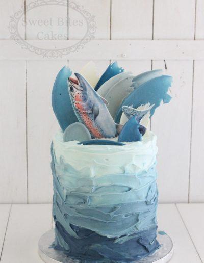 Ocean fish cake