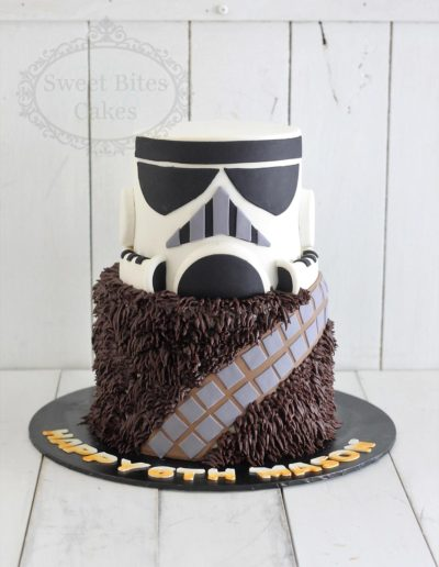 3D star wars themed cake