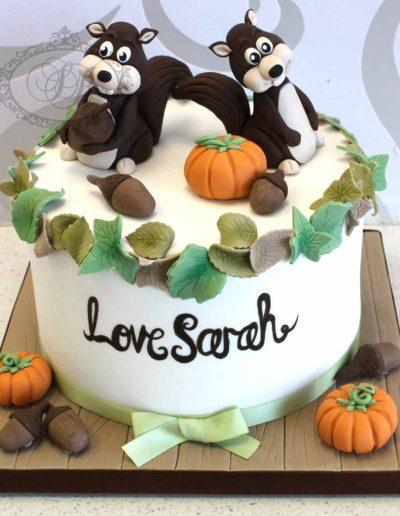 Squirrel-Autumn-Cake