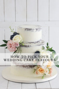 How to Pick your Wedding Cake Flavours