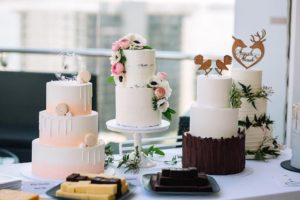 Wedding Cake Line Up