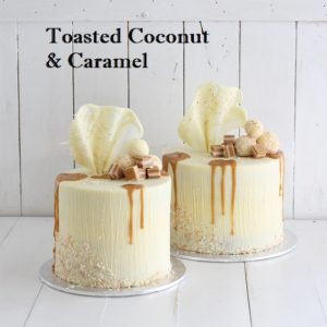 Toasted Coconut & Caramel Cake 6 inch
