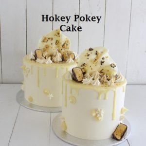 Hokey Pokey Cake 6 inch