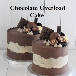 Chocolate Overload 7 Inch Cake
