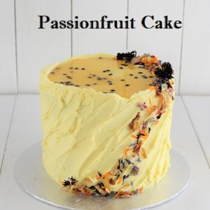 Passionfruit Cake 6 inch