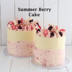 Summer Berry 6 inch Cake