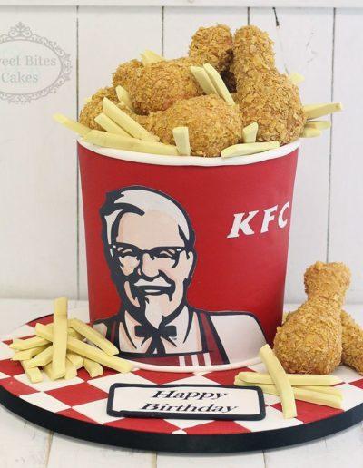 KFC Chicken Bucket Cake