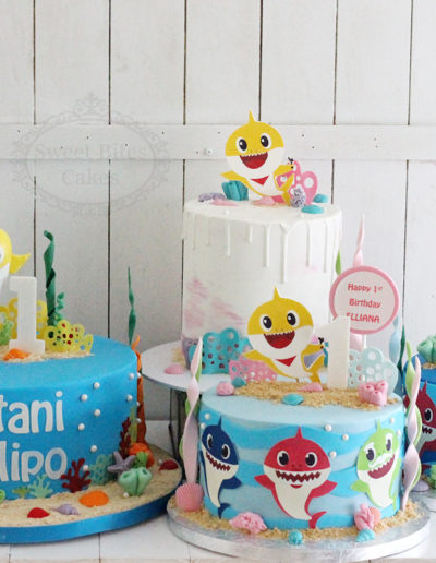 Baby Shark Birthday Cake Selection