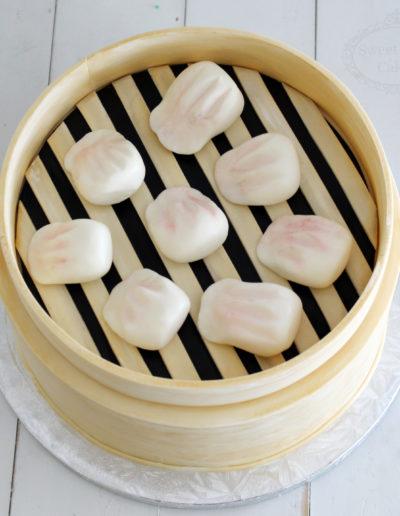 3D Dumpling Steamer Cake