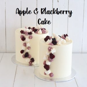 Apple and Blackberry 5 inch Cake