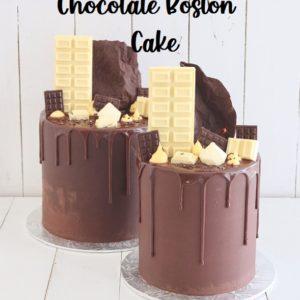 Chocolate Boston 7 inch Cake