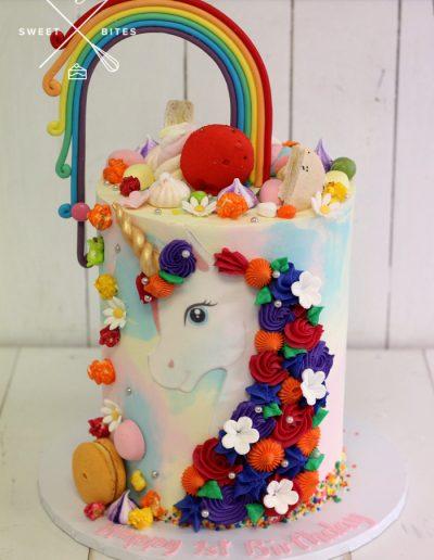 unicorn rainbow image cake candy overload