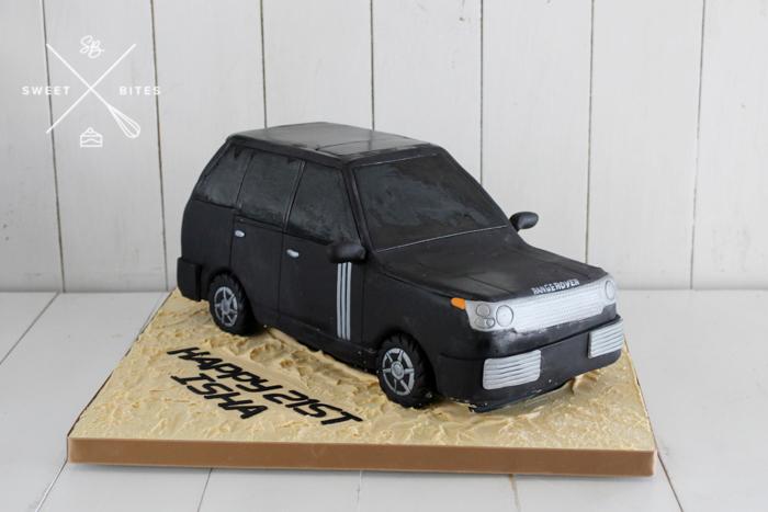 3d range rover land rover car 4wd cake
