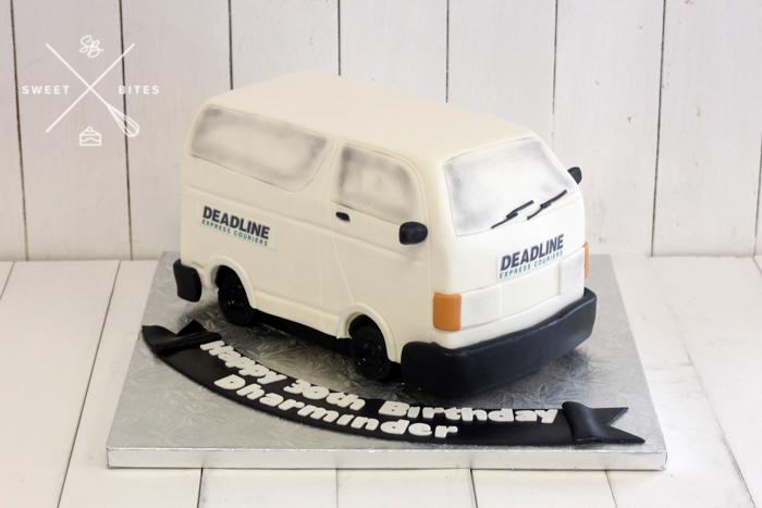deadline courier 3d van cake