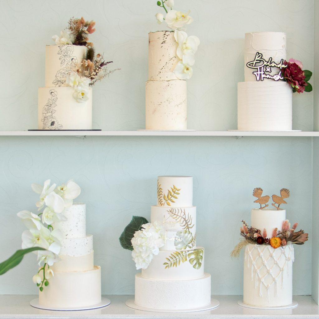 Sweet Bites wedding cake shop display