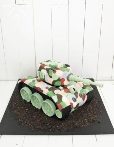 3d tank camo cake army