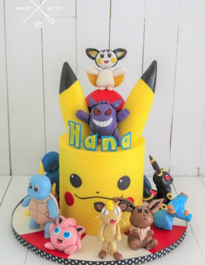 pikachu cake pokemon characters
