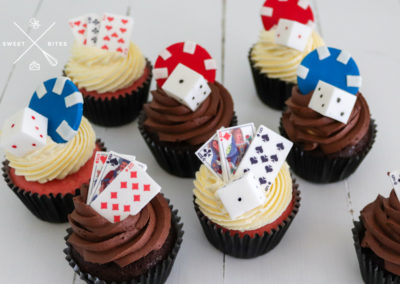 poker themed cupcakes poker chips cards dice